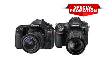 DSLR Camera Specials