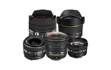 Nikon Wide Angle and Fisheye Lenses