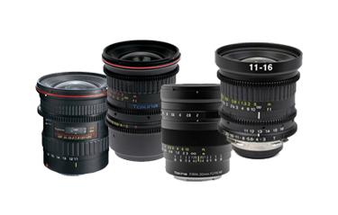 Tokina Wide Angle Lenses