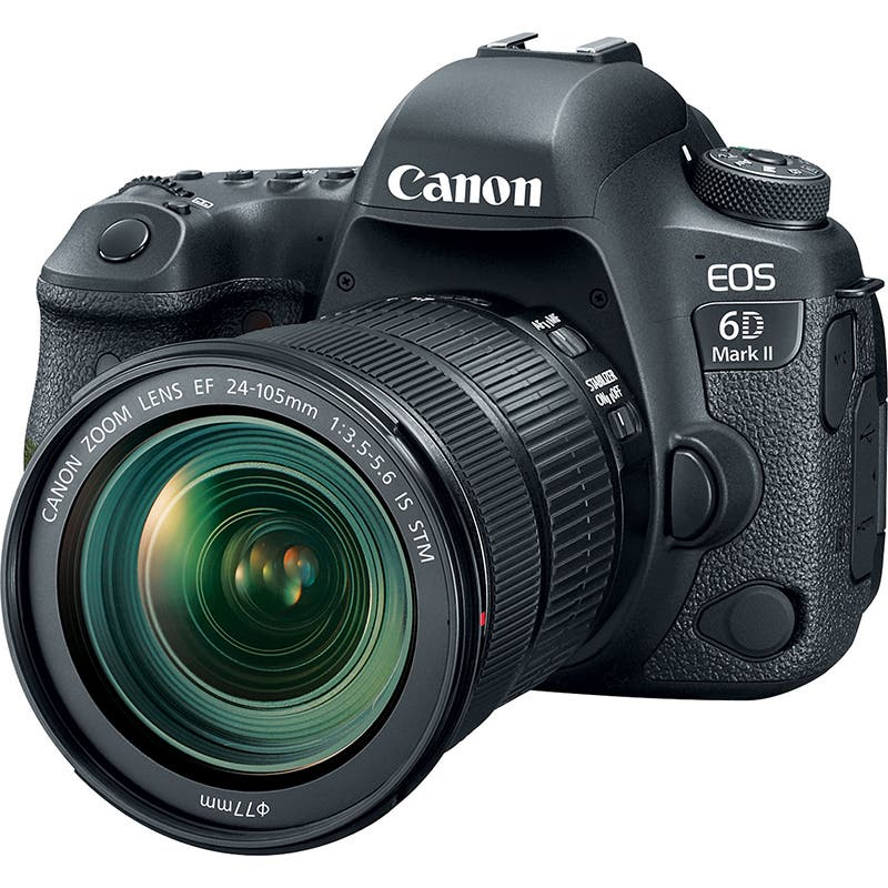 Canon EOS 6D Mark II Premium Kit with EF 24-105 IS STM Lens | Online Camera Store Australia | Camera-Warehouse.com.au