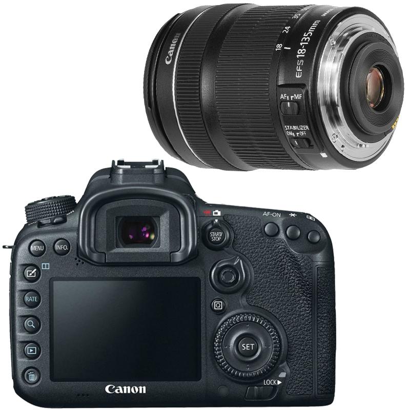 Canon EOS 7D Mark II DSLR Camera Super Kit with Canon EF-S 18-135mm f/3.5-5.6 IS STM Lens | Online Camera Store Australia | Camera-Warehouse.com.au