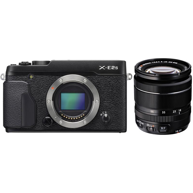 FujiFilm X-E2S Compact System Camera with Fujinon XF18-55mm F2.8-4 R LM OIS Lens | Online Camera Store Australia | Camera-Warehouse.com.au