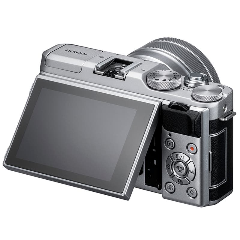 Fujifilm X-A5 Mirrorless Digital Camera + XC 15-45mm Lens (Silver) | Online Camera Store Australia | Camera-Warehouse.com.au