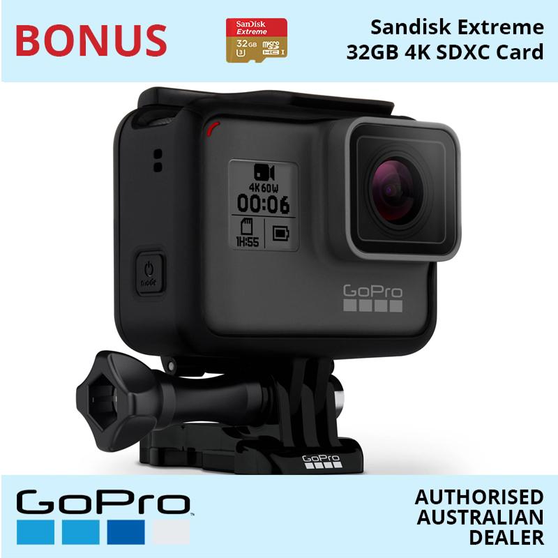 GoPro HERO6 Black Action Camera CHDHX-601 | Online Camera Store Australia | Camera-Warehouse.com.au
