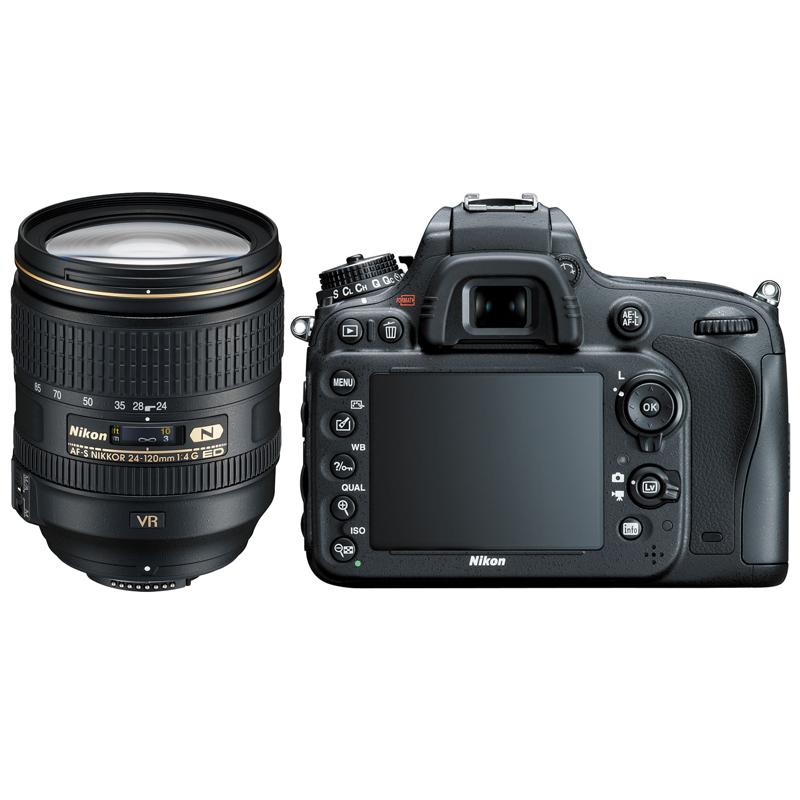 Nikon D610 DSLR Camera with AF-S 24-120mm f/4G ED VR Lens