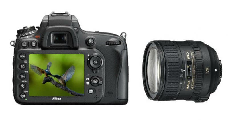 Nikon D610 Full Frame DSLR + 24-85mm VR Lens