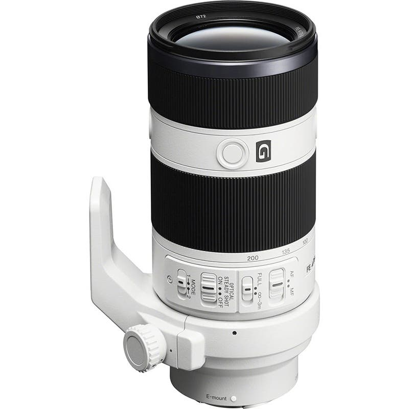 Sony E-Mount FE G 70-200mm f/4 Zoom Lens | Buy now at Camera-Warehouse.com.au